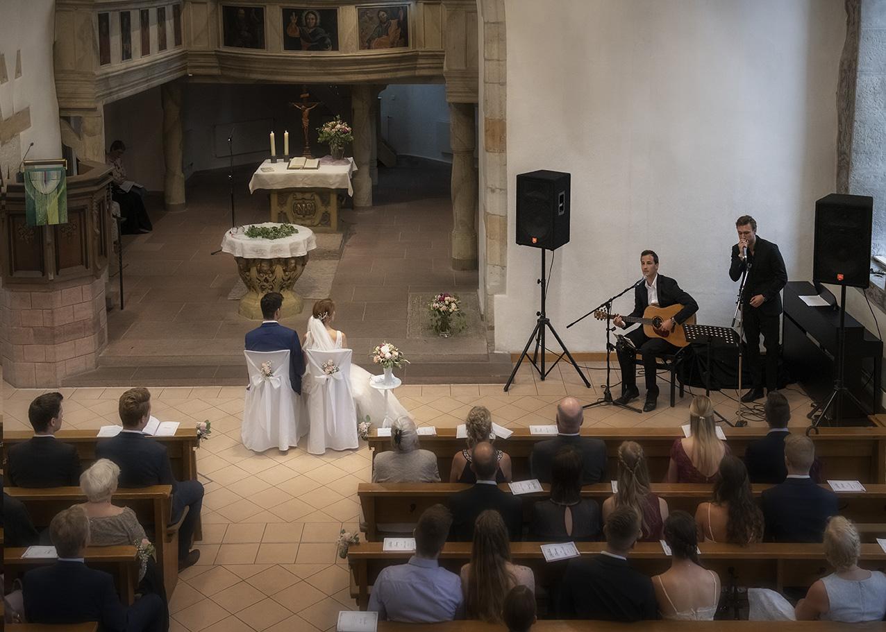 Hochzeit The Choristers